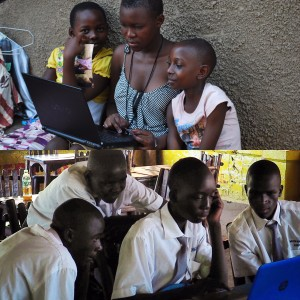 students internet technology in Africa